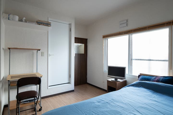 #103.  New! Guesthouse.Comfortable Private Studio.