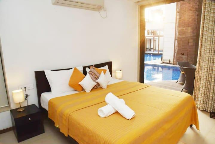 SeaShell 3BR Luxury Villa /Pool @Vagator Goa