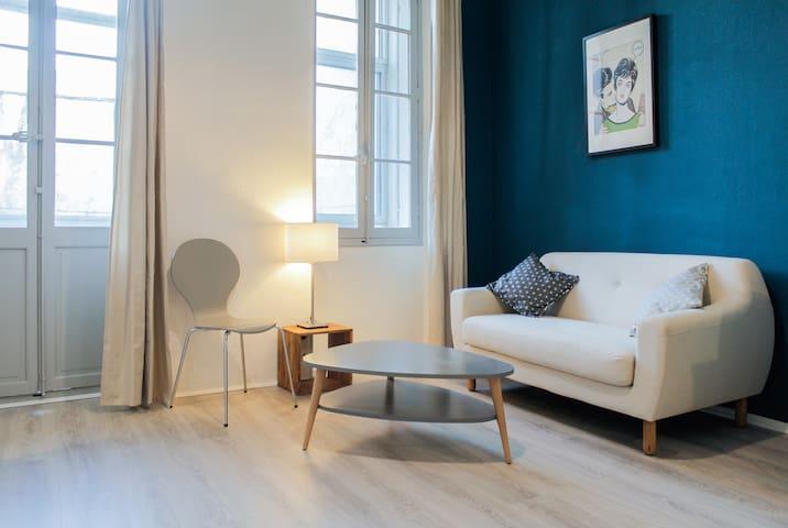 Superbe T1/2 (40 m2) au calme (terrasse+clim)