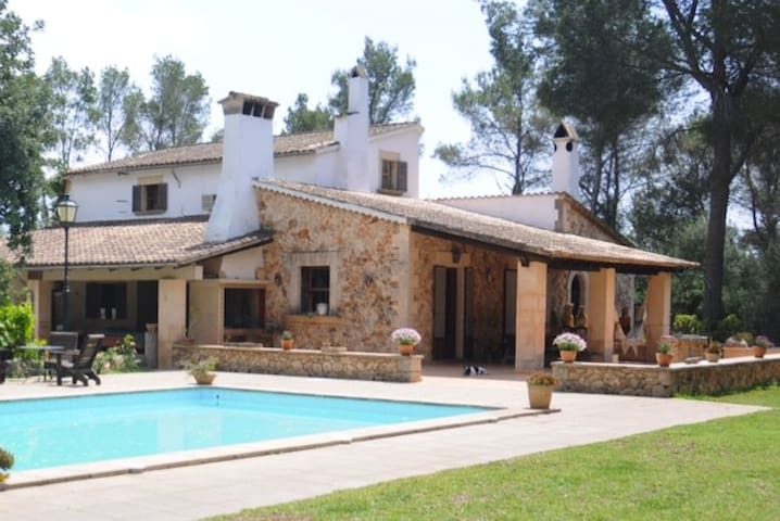 Casa de Piedra Mallorquina/piscina - Marratxí - House