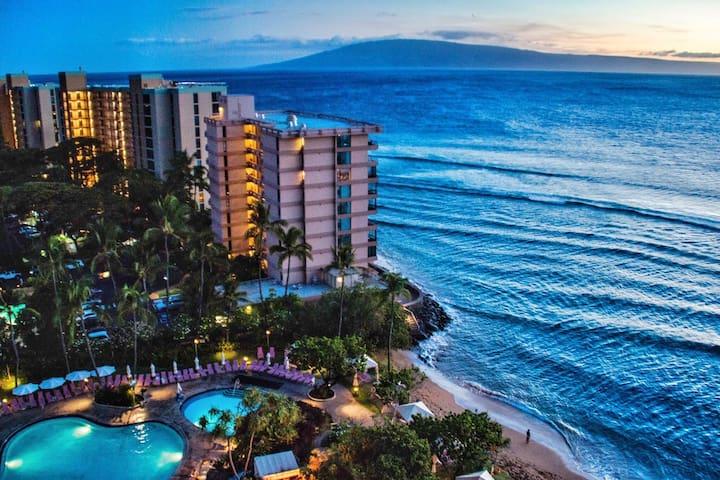 Gorgeous 1BR, 1BA Ka'anapali Maui Ocean View Suite