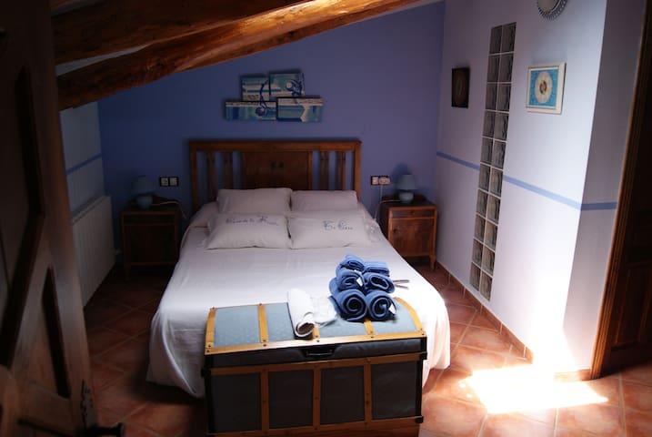CASA DE LA FUENTE: Habitación Aire - Alcorisa