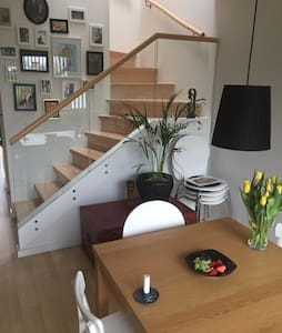 Lyst rækkehus i Skanderborg - tæt på banegården - Skanderborg - Huoneisto