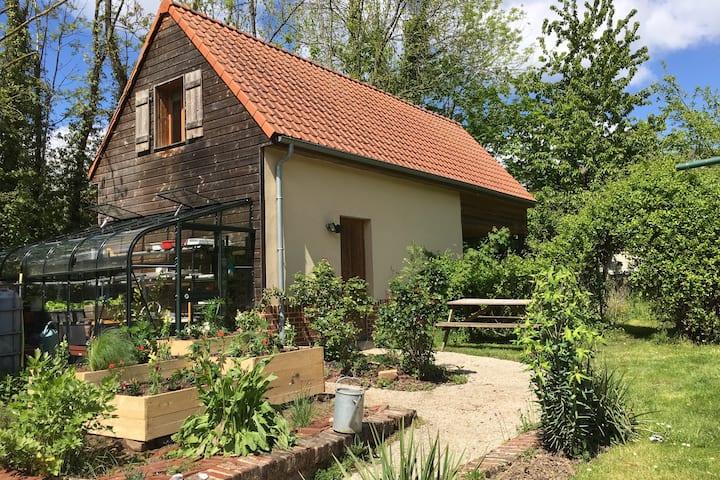 Logement indépendant et champêtre proche d'Amiens