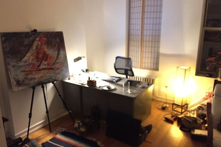 Master Bedroom and Home Office near Prospect Park - Apartment