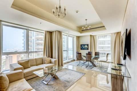 stunning 2BR at Barcelo Residences Dubai Marina
