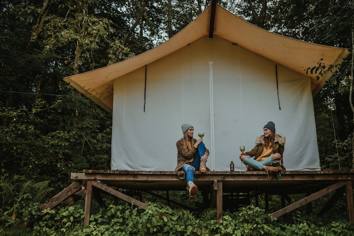 1. Tent Glamping Klaukas