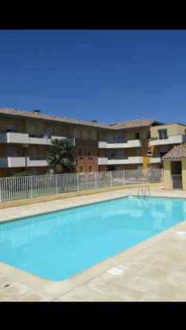 Appartement T3 avec piscine