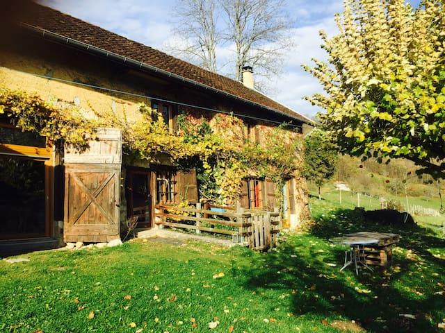 Fermette atypique à la campagne - Saint-Bueil - Andet
