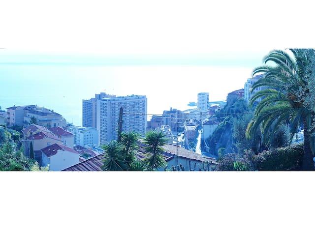 Villa 2 pièces limitrophe Monaco (Beausoleil) - Beausoleil - House