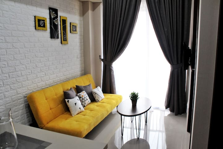SAHID SERPONG 2 BR Apartment near ICE and AEON BSD