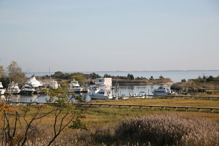 """ABOVE THE BAY"" - Private Estate - Patchogue - Flat"