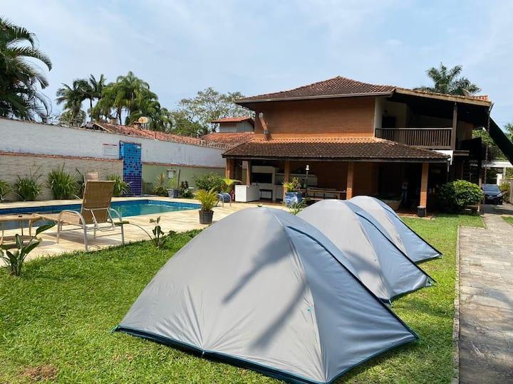 050) Camping Tenório Vermelha Ubatuba