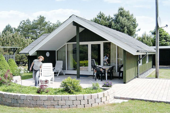 Cool Holiday Home in Væggerløse with Sauna