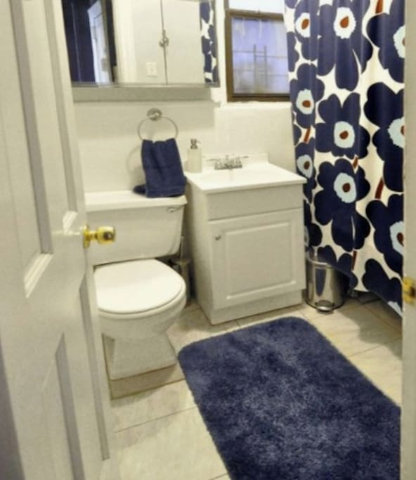 Sweet garden room 100 private attached bathroom townhouses for rent in brooklyn new york for Rooms for rent in nyc with private bathroom