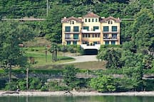 Valeria in a residential complex with lake view and pool