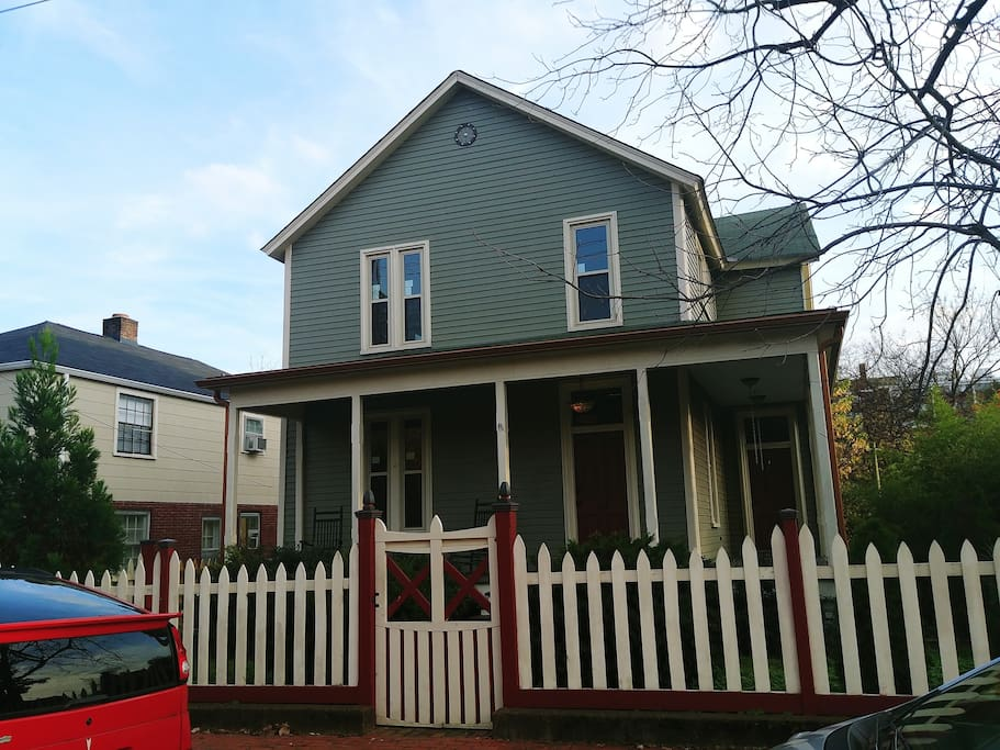 Victorian hideaway placed in Downtown Nashville