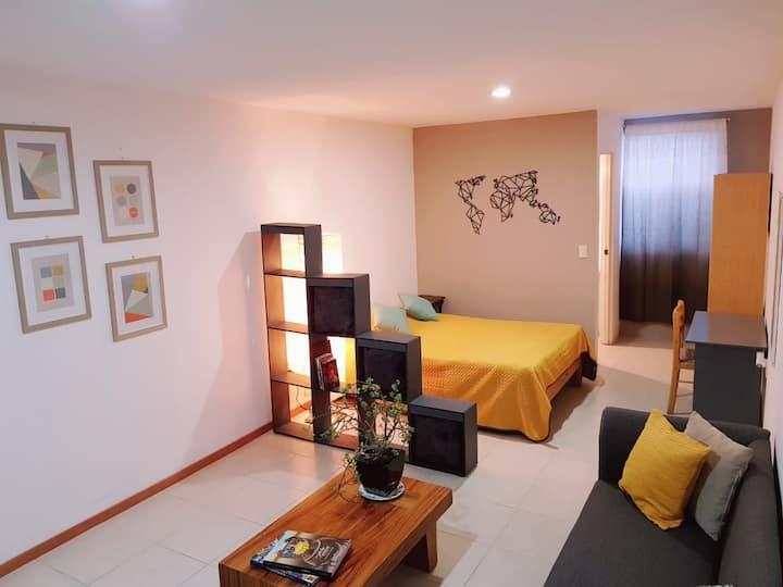 Departamento estudio / Studio flat -Zapopan Centro