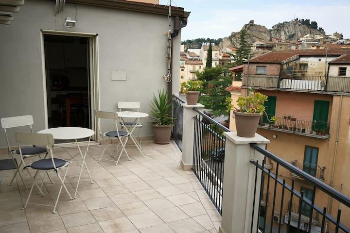 La terrazza con vista