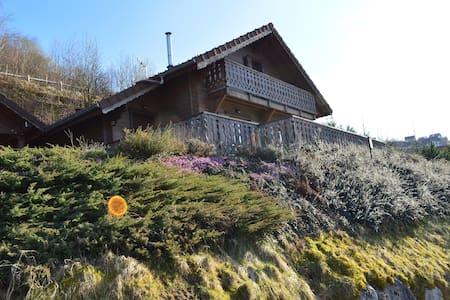 Magnifique chalet le'Passo' avec vue sur la Bresse