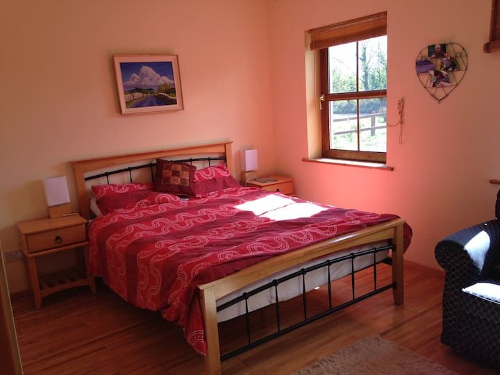 Bright  room near Galway for 1 or 2 people