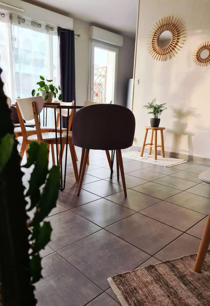 Petit appartement cocon