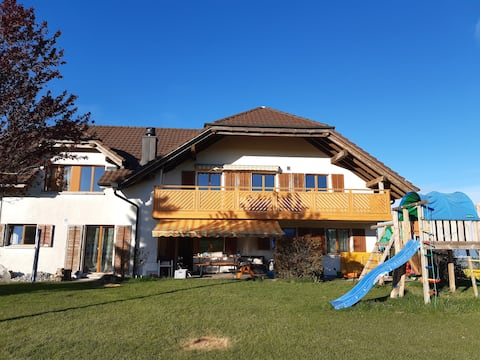Enjoy the countryside in Switzerland