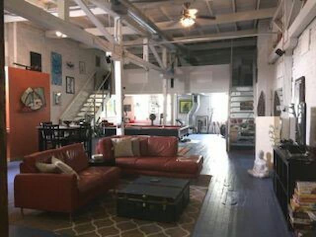 Artsy Loft (Castleberry/Downtown) - Atlanta - Loft