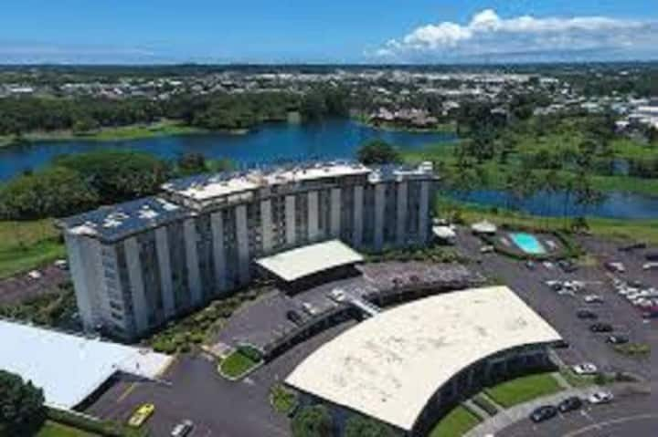 Downtown Hilo Condo Walk to Beaches