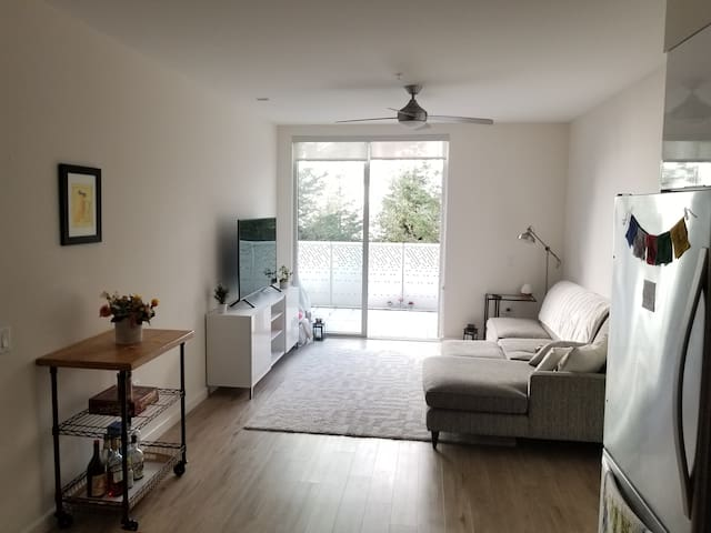 Central Location! Sunny, Quiet (gym+balcony/roof)