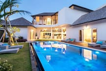 Swimming Pool (Evening Time)