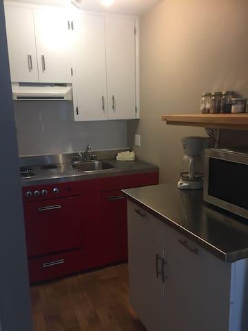 Appartement style loft, environnements paisible !