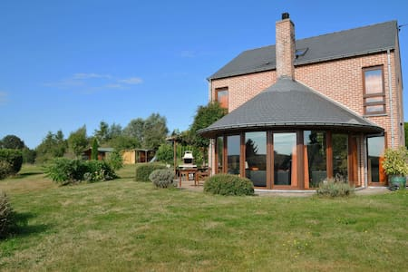 Family home in stunning setting, with outdoor swimming pool and large garden