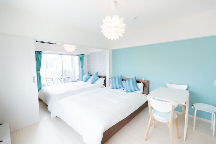 【New!】Central of Hakata2☆Cozy&Clean Room!