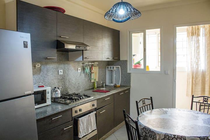 appartement modern familiale pour vacances