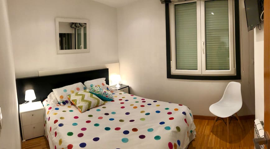 Dormitorio principal, con vestidor
