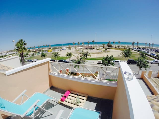 Double room beachfront home ground floor - Pilar de la Horadada - House