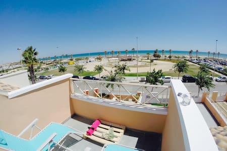 Double room beachfront home ground floor - Pilar de la Horadada