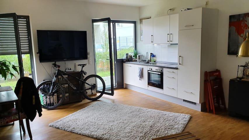 53m2 Wohnung, EG zentrale Lage in Hanau Innenstadt