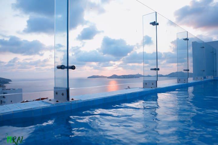 Disfruta Acapulco en departamento de ensueño