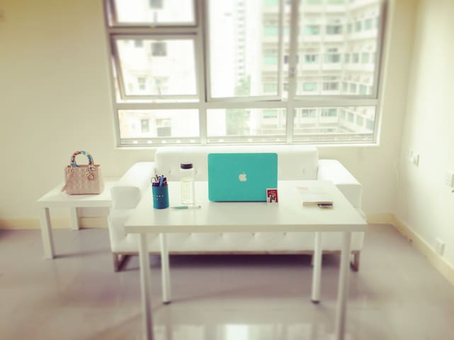 Bright and breezy flat in the center of Hong Kong - Hong Kong - Apartamento