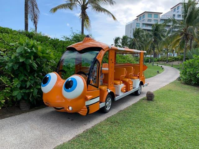 Transporte a playa