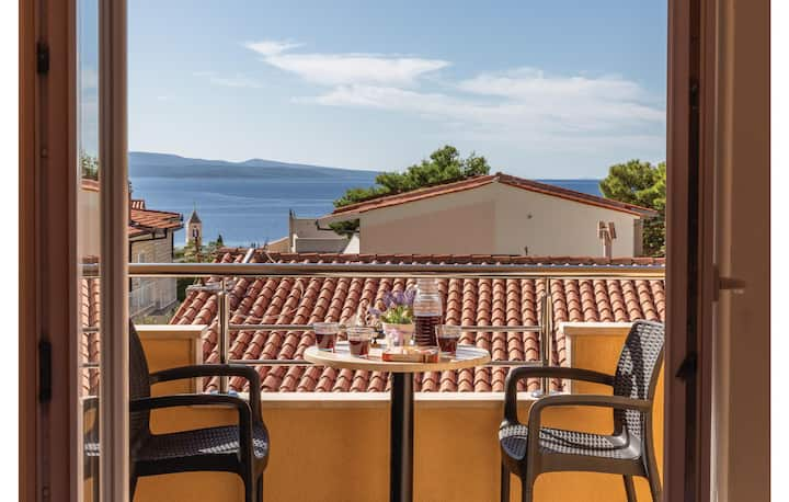 Beautiful home in Baska Voda with WiFi and 1 Bedrooms