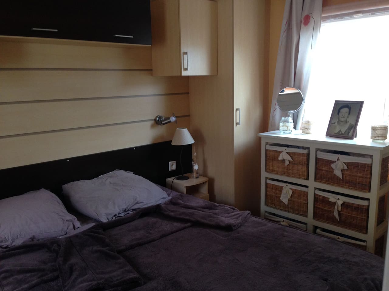 Location  mobilhome Camping la Pinede 6 couchages