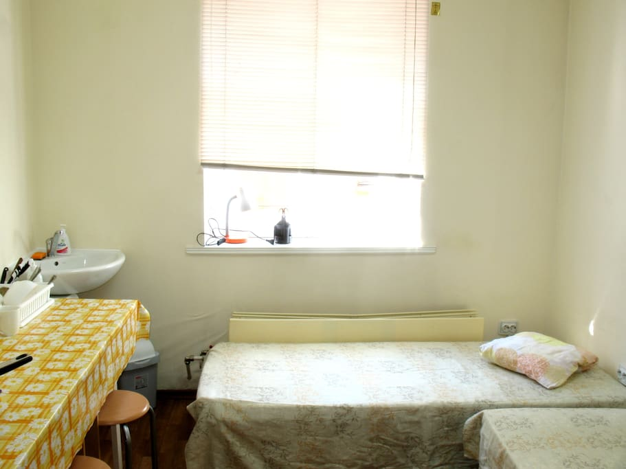 Two  single beds (option)
