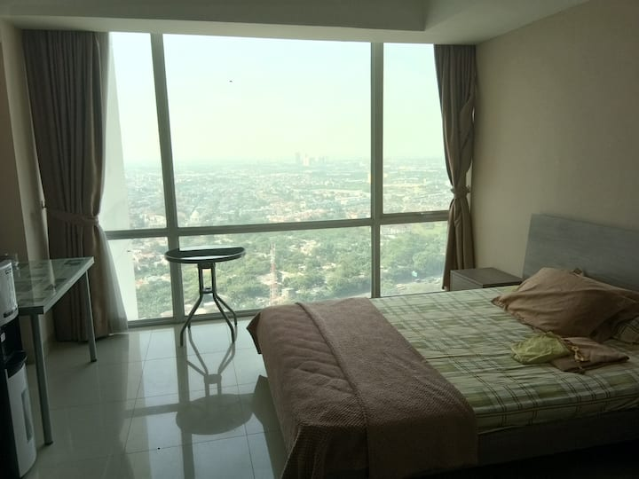 U Residence Apartemen Lippo Village 36m2 for4pp