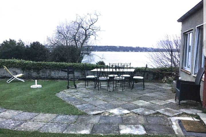 Appartement situé à Cologny Genève   vue sur lac