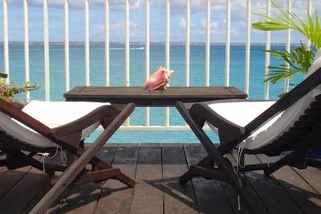 Ocean Sounds - Ideal for Couples and Families, Beautiful Pool and Beach - Grand Case - Appartement