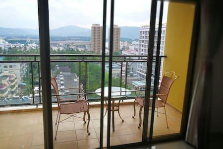 三亚南山寺附近两房一厅,天然温泉公寓
