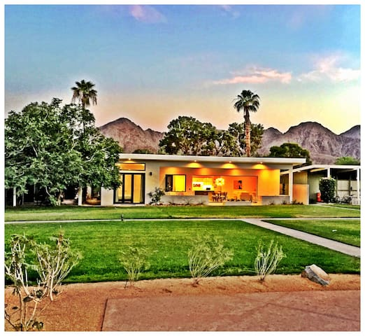 Eco-Modern Old Hollywood Style Desert Gem! - Indian Wells - Maison